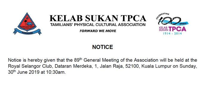 89th General Meeting